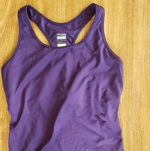 Nike Pro Purple Compression Tank